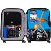 visual Coolblue Segur Cabin Size Trolley 55cm Rood