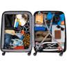 visual Coolblue Segur 4 Wheel Trolley Case 82cm Zwart