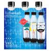 SodaStream Hipster Fuse Flessen 1 liter 3-pack