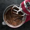 product in gebruik KM5520 Keukenmachine Deep Red