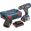 voorkant GSB 18-2-Li Plus + accessoireset