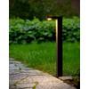 product in gebruik Texas Staand 60 cm Zwart 1 Lichtpunt