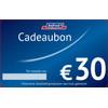Bofrost cadeaubon 30 euro