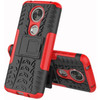 linkerkant Rugged Hybrid Moto C Plus Back Cover Roo