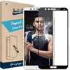 Just in Case Full Cover Tough Honor 7X Screen Protector Glass Black