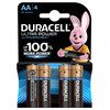 Duracell Ultra Power alkaline AA-batterijen 4 stuks