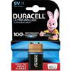 Duracell Ultra Power Pile alcaline 9 V 1 pièce