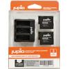 Jupio Kit : GoPro HERO5/6/7 & HERO (2018) (2x) Pile + Triple chargeur USB