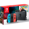 Nintendo Switch Rood/Blauw + 35 eShop tegoed