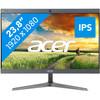 <p>L'Acer Chromebase Touch CA24I2 I5418 est un tout-en-un qui fonctionne sur le système d'exploitation Google Chrome OS. Comme le boîtier de l'ordinateur est incorporé à l'écran, vous n'aurez pas besoin d'un écran séparé. Vous gagnerez donc de la place sur votre bureau. Grâce à l'écran tactile, vous pourrez faire défiler l'ensemble de vos applis, photos et documents avec vos doigts. Puisque l'Acer tourne sur Chrome OS, vous n'avez qu'à vous connecter avec votre propre compte Google pour accéder directement aux programmes, documents et photos sauvegardés dans Drive. Quel que soit l'appareil Chrome OS sur lequel vous vous connectez, vous aurez toujours accès aux mêmes paramètres et fichiers. De plus, le système d'exploitation Chrome OS n'est pas vulnérable aux virus.  <br>  <strong>Attention : ce PC fonctionne sur Chrome OS, ce qui signifie que les logiciels et applications Windows ne fonctionnent PAS sur cet appareil.</strong>  <p> <strong>Conseils de notre expert</strong> <ul><li>Internet et mails : <em>adapté</em></li> <li>Retouche photo : <em>inadapté</em></li> <li>Montage vidéo : <em>inadapté</em></li> <li>Gaming : <em>inadapté</em></li> <li>Réalité virtuelle : <em>inadapté</em></li></ul></p></p>