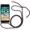 StilGut iPhone 7/8 Back Cover met Koord Transparant