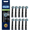 Oral-B Cross Action zwarte opzetborstels (10 stuks)