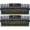 Corsair Vengeance 8 Go DIMM DDR3-1600 CL 9 Noir 2 x 4 Go