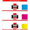 Pixeljet 305A Toner 3 Couleurs pour imprimantes HP (CF370AM)