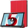 Just in Case Tri-Fold Huawei MediaPad M5 10/10 Pro Coque à rabat Rouge