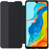 Huawei P30 Lite View Flip Cover Book case Noir