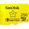 SanDisk MicroSDXC Extreme Gaming 256GB