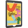 Just in Case Heavy Duty Apple iPad (2020)/(2019) Back Cover Noir