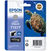 Epson T1577 Cartridge Licht Zwart (C13T15774010)