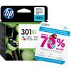 HP 301 Cartouche d'encre Tricolore XL (CH564EE)