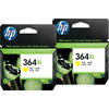 HP 364XL Cartridges Geel Duo Pack
