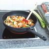 product in gebruik Easy Induction Wokpan 30 cm