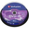 Verbatim DVD+R 4,7 GB 10 Pack Spindle