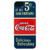 Coca-Cola Hardcover Apple iPhone 5C Old 5 Cents