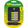 GP PowerBank 550 + 4 x AA 2600 mAh