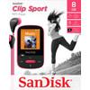 verpakking Sansa Clip Sports 8GB roze