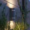 product in gebruik myGarden Sunset Wand Zilver M