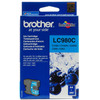 Brother LC-980C Cyan Ink Cartridge (Blauw)