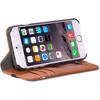 product in gebruik Leather Wallet Apple iPhone 6/6s/7 Brown