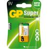 GP Super Alkaline 9V blok, blister 1
