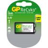 GP ReCyko+ oplaadbare 9V, blister 1