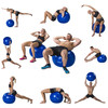 product in gebruik Gymball 65 cm Blue