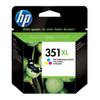 HP 350 Black Ink Cartridge XL + HP 351 Tri-Colour Ink Cartridge XL