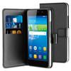 samengesteld product Wallet Case Huawei Y6 Zwart