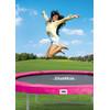 product in gebruik Beschermrand 305 cm Roze