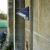 linkerkant Led Solar Wandlamp met Bewegingssensor