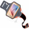 Comfort Fit Sportarmband Galaxy S6 Oranj