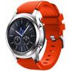 rechterkant Samsung Gear S3 Silicone Watchband Orang