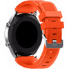 achterkant Samsung Gear S3 Silicone Watchband Orang