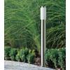 product in gebruik Utrecht Sokkellamp Staand Zilver 80 cm