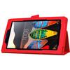 product in gebruik Tab 3 7 inch Folio Case rood