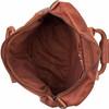 binnenkant The Bag Cognac