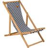 linkerkant Strandstoel Soho Bamboe