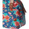 detail Bloom Girls Carry All 11L Indigo Blauw