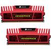 Corsair Vengeance 16 GB DIMM DDR3-1600 CL 10 rood 2 x 8 GB