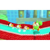 product in gebruik Poochy & Yoshi's Woolly World 3DS